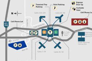MCO Parking Map