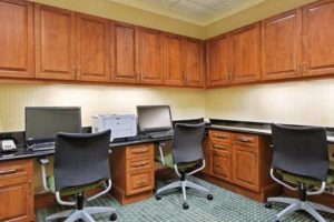 Hampton Inn Suites Orlando business center