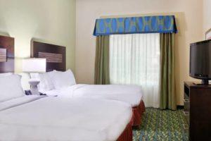 Homewood Suites Orlando bedroom