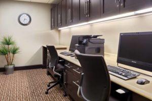 Homewood Suites Orlando business center