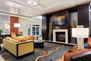 Homewood Suites Orlando lobby